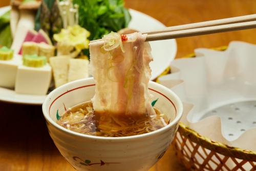 京都,瓢斗,出汁しゃぶ,豚しゃぶ,しゃぶしゃぶ