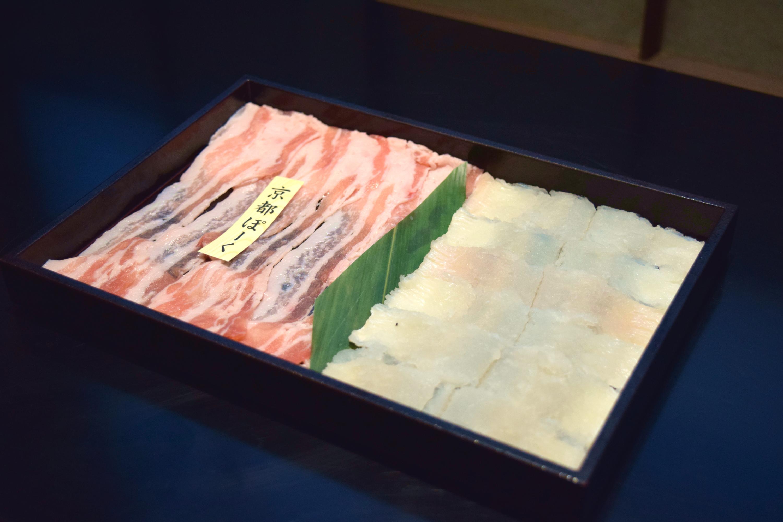 瓢斗,京都ぽーく,鱧,出汁しゃぶ