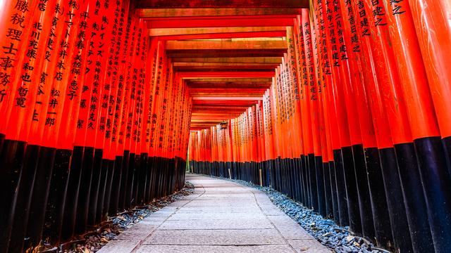 京都 伏見稲荷大社 日本