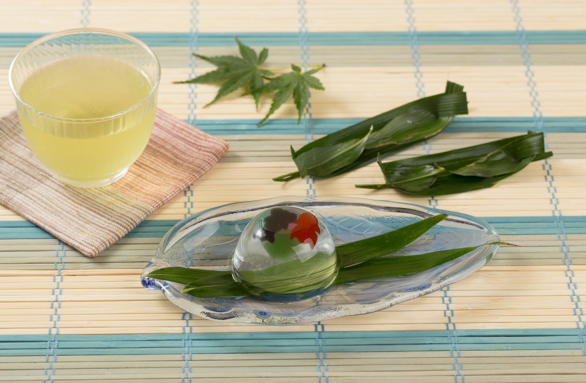 京都初夏の和菓子