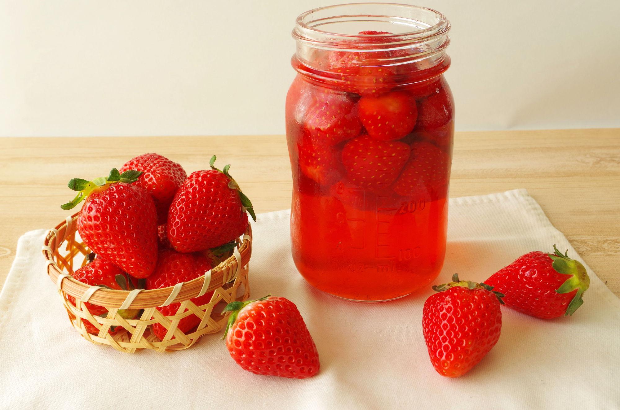 イチゴ酢の魅力