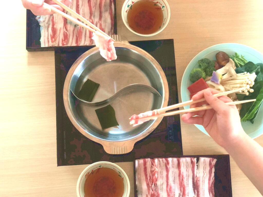 瓢斗,出汁しゃぶ,渋谷,1人鍋