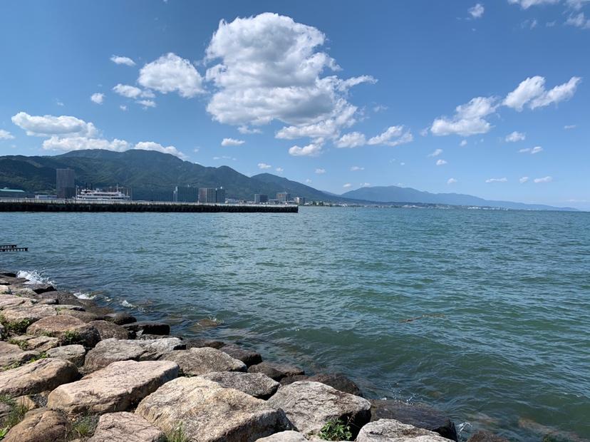 琵琶湖,湖,滋賀